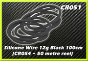 CORE RC Silicone Wire 12g - Black 1m