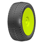 GRP 1:8 Buggy - Plus - New Closed Cell Insert - Mounted on New Closed Yellow Wheel