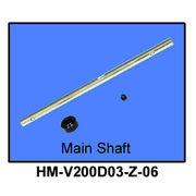 Walkera Main Shaft for V200D03