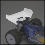 JConcepts Aero B6 | B6D Rear Wing - Short Chord