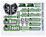 JQRacing THECar Sticker Sheet