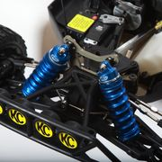 Full Force RC Losi 5ive-T Shock Boots - Blue