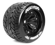 Louise 1:8 3.8 Inch Monster Tire MT-Rocket Mounted On Black Wheel - 0 Offset - Sport (2)