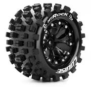 "Louise Tire & Wheel MT-ROCK 2.8"" Black 1:2-offset (2)"