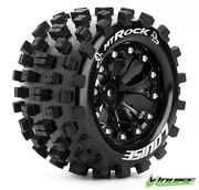 "Louise Tire & Wheel MT-ROCK 2.8"" Black 0-offset (2)"