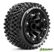 "Louise Tire & Wheel ST-UPHILL 2.2"" Black Soft (2)"