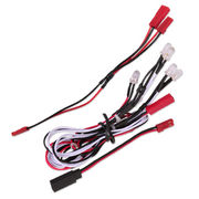 Hobbypro Light Cable - 4 White & 2 Red