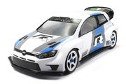 Mon-Tech 1:10 WR4 Rally Maalaamaton Lexan Body - 190mm