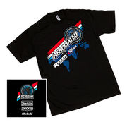 Team Associated 2016 Worlds T-shirt, black, medium