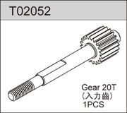 TeamC Top Gear Shaft 20T