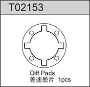 TeamC Diff Pads For Gear Diff