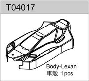 TeamC TC04/T4 Body - Lexan