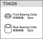 TeamC Bearing Collar F/R (2)
