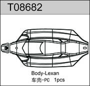 TeamC T8e Body - Clear Lexan
