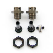 Tekno RC 17mm Hub Adapters for M6 Driveshafts - Slash -Stampede (2)