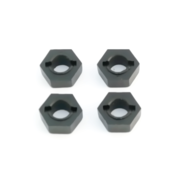 Tekno RC 12mm Hex Adapters for M6 Driveshafts - Slash - Stampede (4)