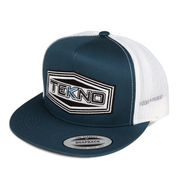 Tekno RC Patch Trucker Hat (flat bill, mesh back, adjustable strap)