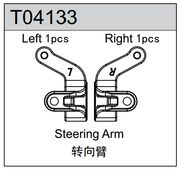 TeamC Steering Arms L+R TM4