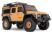 Traxxas TRX-4 1/10 Scale And Trail Crawler Land Rover Defender - Tan Edition -  Ilman Akkua & Laturia