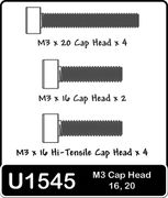 Schumacher SPEED PACK - M3 Cap Hd 16 20mm
