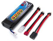 Vapex Li-Po Battery - 2S 7.4V 4000mAh 30C - Multi-connector