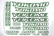 Yokomo Offroad Racing Stickers (Green)