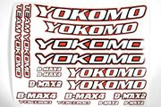 Yokomo Offroad Racing Stickers (Red)