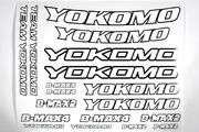 Yokomo Offroad Racing Stickers (white)