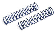 Team Associated Rear Shock Spring, blue, 2.55 lb (2)
