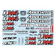 Team Associated B64 Decal Sheet