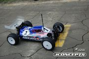 "JConcepts Associated B44.1 ""Finnisher"" Illuzion Body w/6.5"" Hi Clearance Wing"