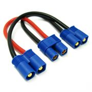 Etronix Battery Harness For 2 Packs In Series Adaptor
