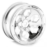 "FTX Outback 6hex 1.9"" Wheel (2) - Chrome"