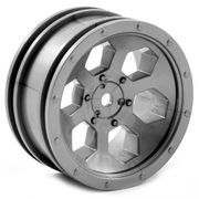 "FTX Outback 6hex 1.9"" Wheel (2) - Grey"