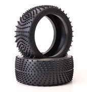 Schumacher Large Scale Wave Tyre - Yellow (2)