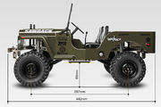 GMade 1:10 GS01 Sawback 4WD Scale Crawler Kit