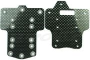 Nanda Front and Rear Carbon Chassis Plate