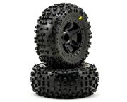 "Pro-Line Badlands 2.8"" All Terrain Tires Mounted on Desperado Black Wheels"
