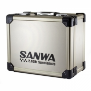 Sanwa Aluminium Carrying Case For M12 & M12S Transmitter