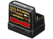 Sanwa RX-481 Receiver With Internal Antenna FHSS-4 Surface 4ch