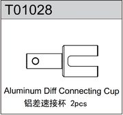 TeamC Aluminum Diff Connecting Cup (2)