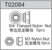 TeamC M3/M4 Nut (6+6)