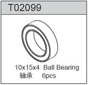 TeamC Ball Bearing 10X15X4 (6)