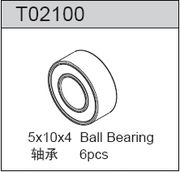 TeamC Ball Bearing 5X10X4 (6)