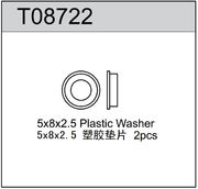 TeamC Plastic Washer 5x8x2.5mm For TR8 (2)
