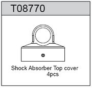 TeamC Shock Absorber Top Cover (4)