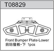 TeamC GT8 Front Bumber Plates