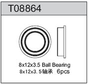 TeamC 8X12X3.5 Ball Bearing