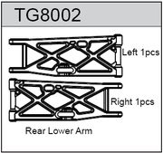 TeamC Rear Lower Arm For T8T(E) (2)