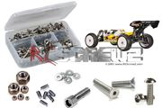 RCScrewz Team C T8e V3 1:8th Buggy Stainless Steel Screw Kit